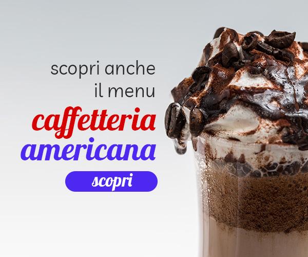 Menu caffetteria americana